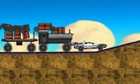 Terug naar de toekomst trein scène