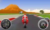 3 d gek motorfiets