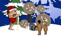 Stoneage Santa