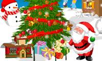 Magnífico árbol de Navidad