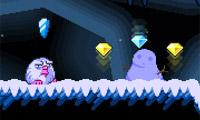 Eisige Höhle