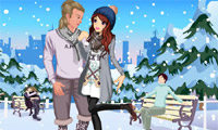 Winter paar Dating