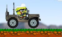 Bob esponja Jeep peligroso