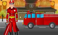 Dappere Fire Man