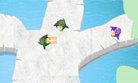 Pinguïn schaatsen 2