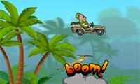 Jeep im Dschungel