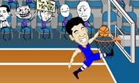 Lin - Sanity gek basketbal