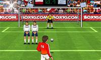 サッカーのキック
