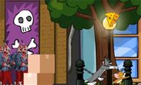Tom en Jerry Zombies stad