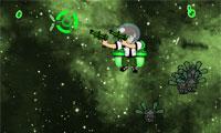 Ben 10-Weltraum-Shooter