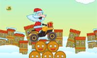 العاب سباق دراجات بابا نويل
