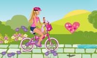 Barbie een fietstocht