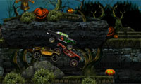 Halloween Friedhof Racing