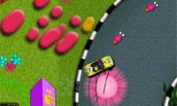 SpongeBob snelheid auto Racing
