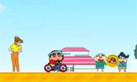 小新的單車表演