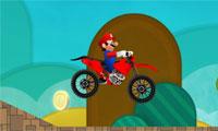 Super Mario motorfiets Rush