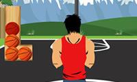 Przystojny chłopak koszykówki
