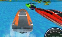 3D Powerboat-Rennen