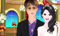 Selena en Justin bruiloft