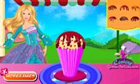 Partie de la crème glacée de Barbie
