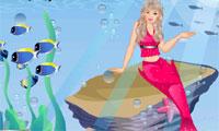 Barbie Mermaid Dress Up