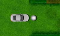 汽車推高爾夫球