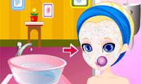 Polly Pocket gezicht Makeover