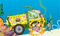 SpongeBob Plankton ontploffen