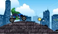 Con quái vật màu xanh lá cây xe gắn máy 4