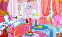 きれいに姫私室